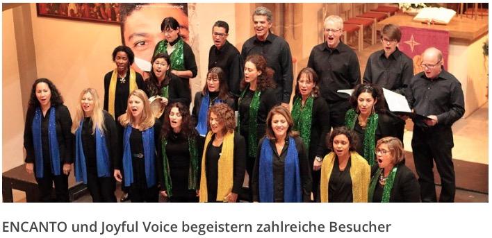 Konzert in Winterbach 2015 – Artikel der Giovane-Elber-Stiftung